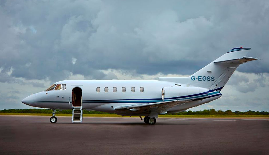 G-EGSS Jet side view