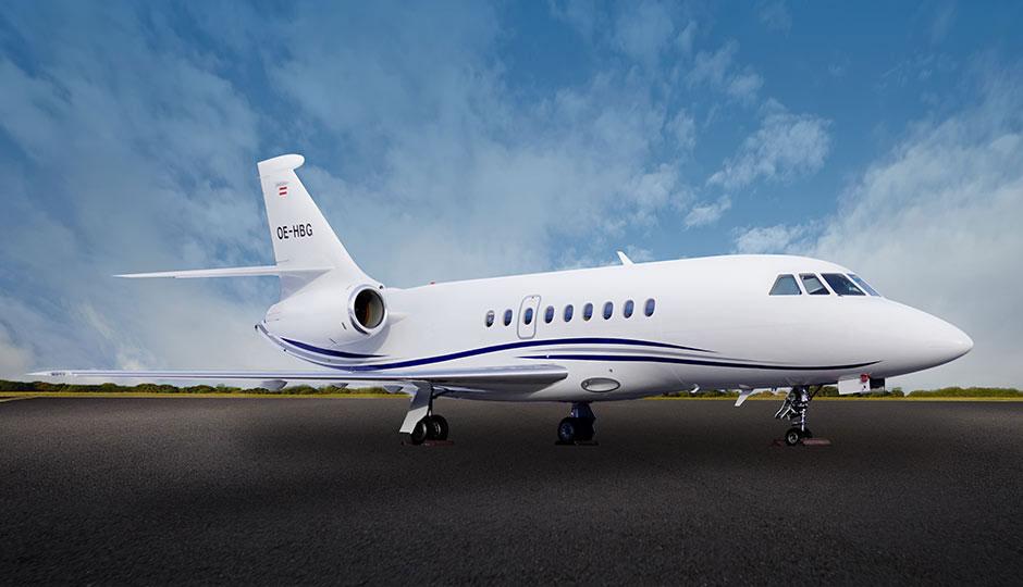 OE-HBG Falcon 2000